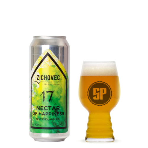 Zichovec Nectar of Happiness NEIPA 17° 0,5 l