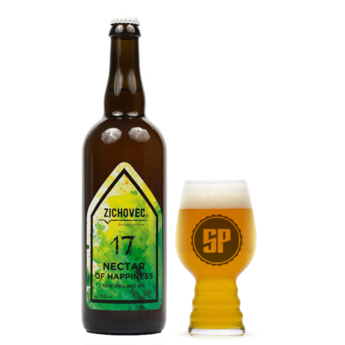 Zichovec Nectar of Happiness NEIPA 17° 0,7 l